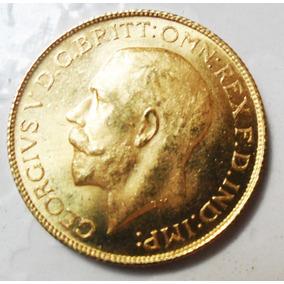 Moeda De Ouro Inglaterra George V 1911