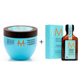 Moroccanoil Máscara Hidratante 250ml + Oleo Treat. 50ml