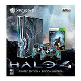 Consola Xbox 360 Limited Edition Halo 4 Bundle