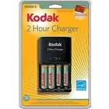 Cargador Rápido De Pilas Kodak C/4 Baterias Recargables+envi
