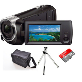 Filmadora Sony Hdr-cx440 Zoom 60x Wi-fi Bolsa+tripé+32gb