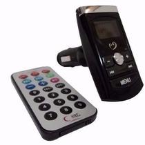 Transmissor Veicular Fm Mp3 Usb Lê Pen Drive E Cartão Sd Mic