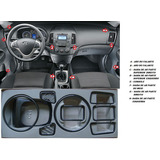Kit Adesivo Fibra De Carbono Hyundai I-30 07/12 Automatico