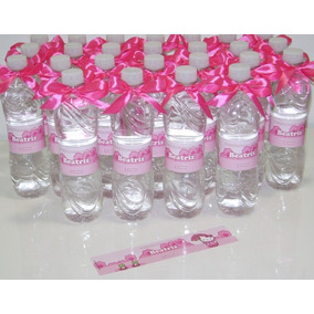 50 Rotulos Adesivos Garrafinha Agua Personalizados