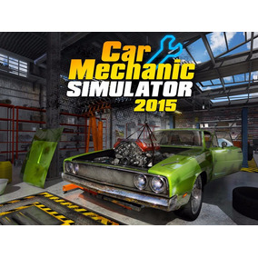 Simulador Mecânico De Carros Car Simulator 2015 Pc Dvd