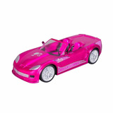 Barbie Crusin Convertible Carro Control Remoto Juguete Niñas