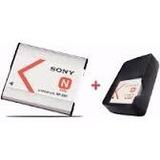 Carregador + Bateria Np-bn1 P/ Camera Digital Sony Wx30 W320