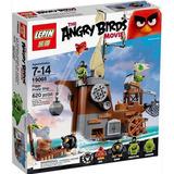 Angry Birds Lego Alterno Barco Pirata Cerdo Pig