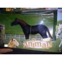 Cavalo Touro Vaca Animais Da Fazenda Borracha Rotobrinq 32