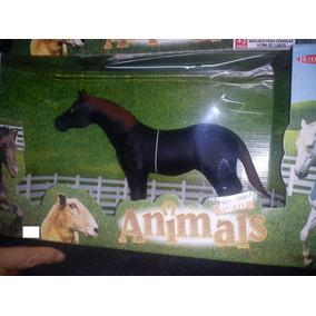 Cavalo Touro Vaca Animais Da Fazenda Borracha Bee Toys 32