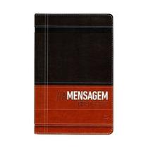 Bíblia A Mensagem Capa Luxo Marrom E Café