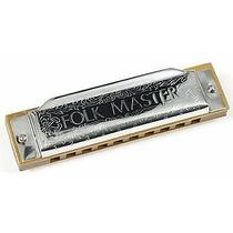 Gaita Blues Diatônica Suzuki Folkmaster 1072 A(lá)-novo-nf