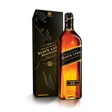 Whisky Johnnie Walker Black Label 750ml, Escocés, Estuche