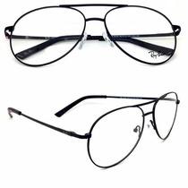 Rayban Armação Aviador Óculos De Grau