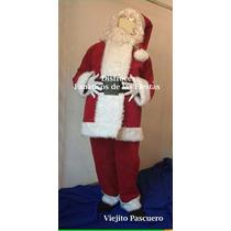 Disfraces De Viejo Pascuero Santa Claus Nuevos Completos
