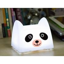 Luminária De Mesa Abajur Led Panda