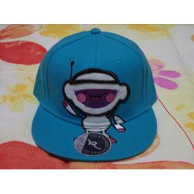 Gorra Azul D Robot Akolatronic Rod & Pipers Original 7 1/4