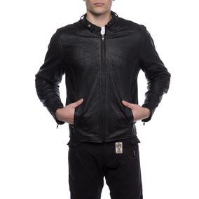 Campera Ls2 Oficial Moto Cuero Con Protecciones