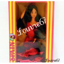 Barbie Española Colección Del Mundo 1era Edicion España 80s