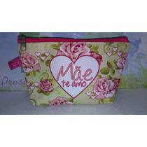 Necessaire Nylon Personalizada Pacote Com 10 Pçs $ 49,90