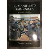 El Manifiesto Comunista Marx Engels Nuevo