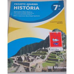 História 7º Ano Projeto Araribá Editora Moderna