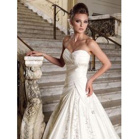 Vestido De Novia Nuevo Barato Bonito Elegante Boda Mod 19