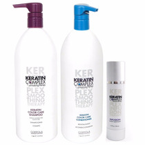 Tigi Keratin Complex Kit Color Care Shampoo +enjuague+aceite