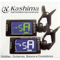 Afinador Cromático De Clip Para Instrumentos Musicais - Novo