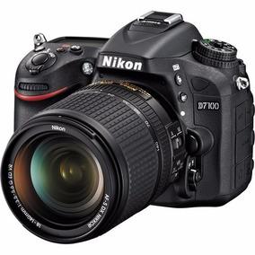 Câmera Nikon Dslr D7100 Com Lente 18-140mm Nova 12x S/juros
