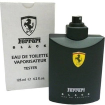 Perfume Ferrari Black 125ml Edt 100% Original Masc Tester