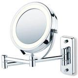 Lindo Espelho Luxo Aumento Com Luz Parede/bancada Jm 315