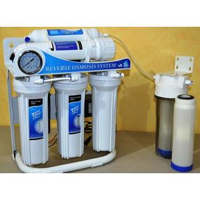 Osmosis Inversa Casera 100 Gpd 6 Etapas Bomba Y Etapa D/i