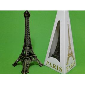 Enfeite Torre Eiffel Miniatura Metal