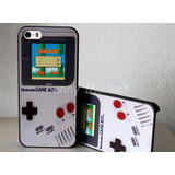 Case Carcasa Game Boy Iphone 5 Iphone 5s Se Gamers 10 Soles