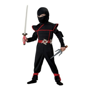 Traje De California Trajes Ninja Stealth Toddler, 4-6