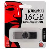 Pen Drive Kingston 16gb Dt101 Usb 2.0