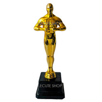 Estatuilla Premio Oscar 20cm Plastico Fiesta Oscares Oscars