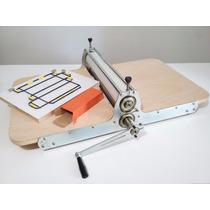 Maquina De Corte E Vinco Manual 41cm + 1 Faca 60,00