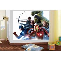 Adesivo Parede Os Vingadores Super Herói Avengers Brindesi9