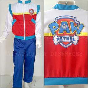 Disfraz Tipo Paw Patrol Ryder Patrulla De Cachorros Jefe