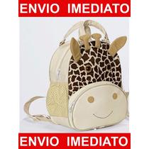 Mochila Infantil Girafinha - Mochila De Bebê - G Bichinho