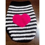 Delicado Abrigo Para Mascota!tejido En Crochet Hasta 35cm
