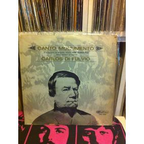 Carlos Di Fulvio - Canto Monumento Vinilo