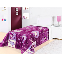 Cobertor Solteiro Nobre - Modelo Meninas