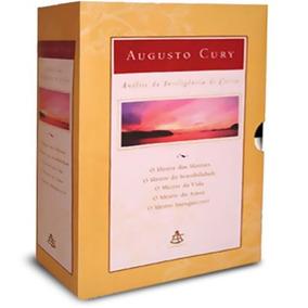 Coleção Análise Da Inteligência Cristo 5 Livro Augusto Cury