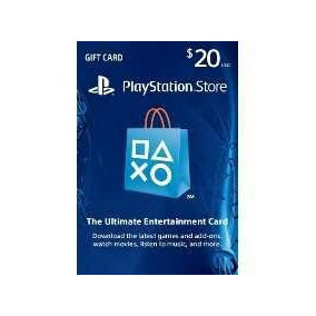 Playstation Network Cartão Psn $20 Dólares - Imediato!