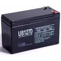 Bateria 12v 7ah Lampara Emergencia, Ups, Cerco Electrico