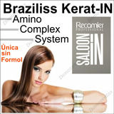 Kit Keratina Braziliss Recamier 100 Ml - Original Sin Formol
