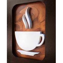 10 Quadros Decorativo Cozinha Café Pintura Mdf Frete Grátis
